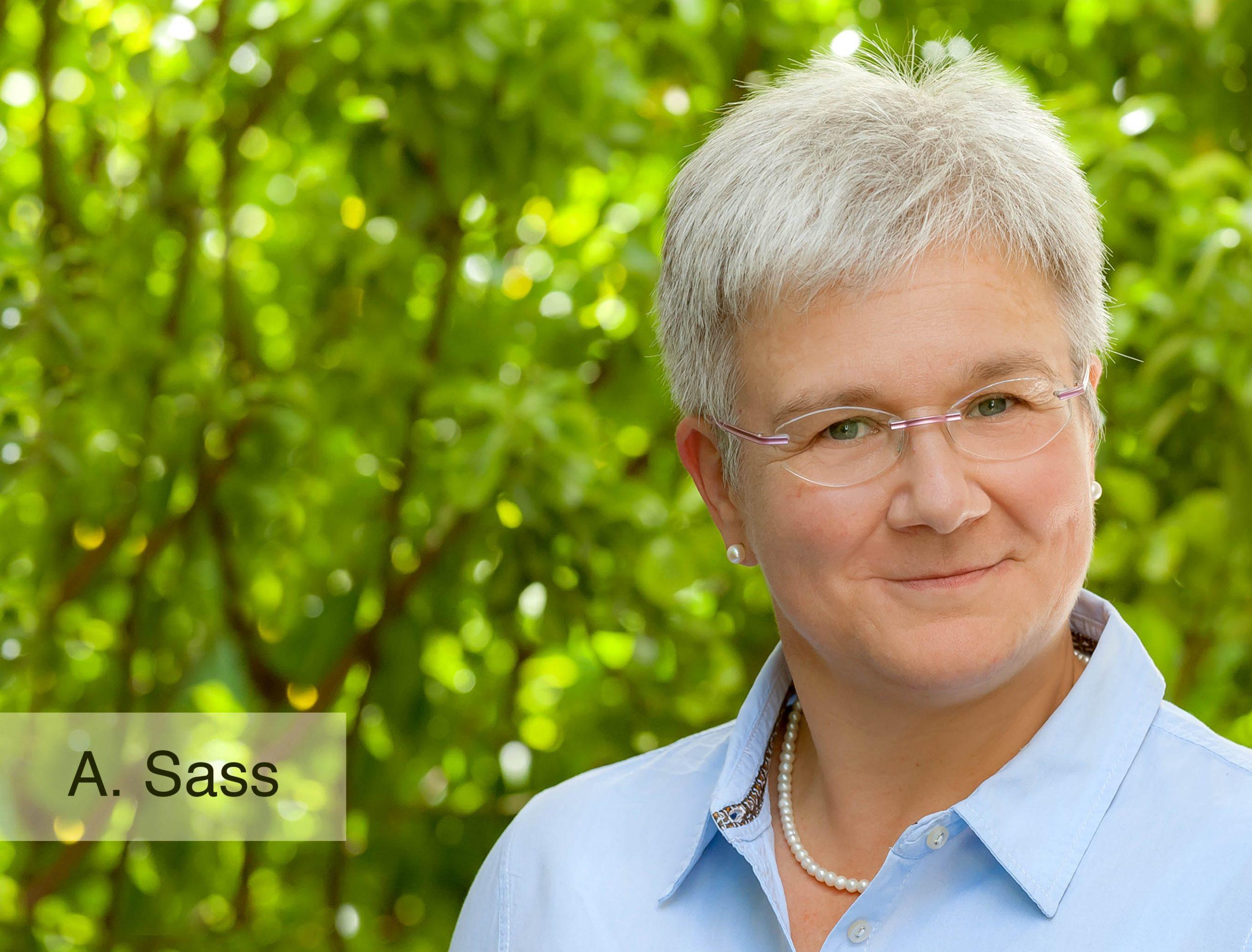 Physiotherapeutin Andrea Sass